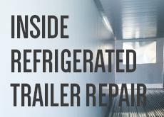 Inside Refrigerated Trailer Repair