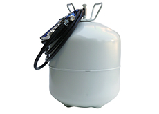 Canister With Hose