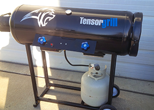 TensorGrill - developed from an intermediate adhesive canister