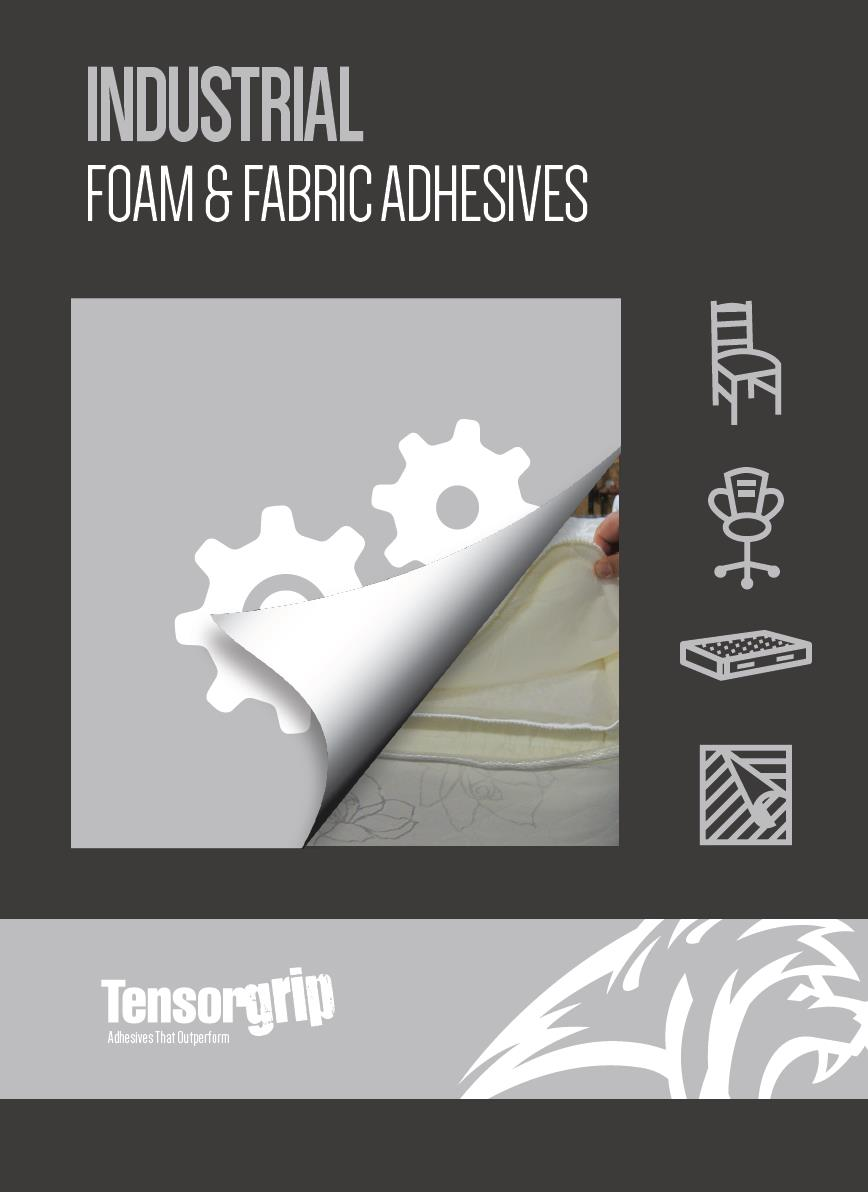 Industrial Foam & Fabric Adhesives Brochure