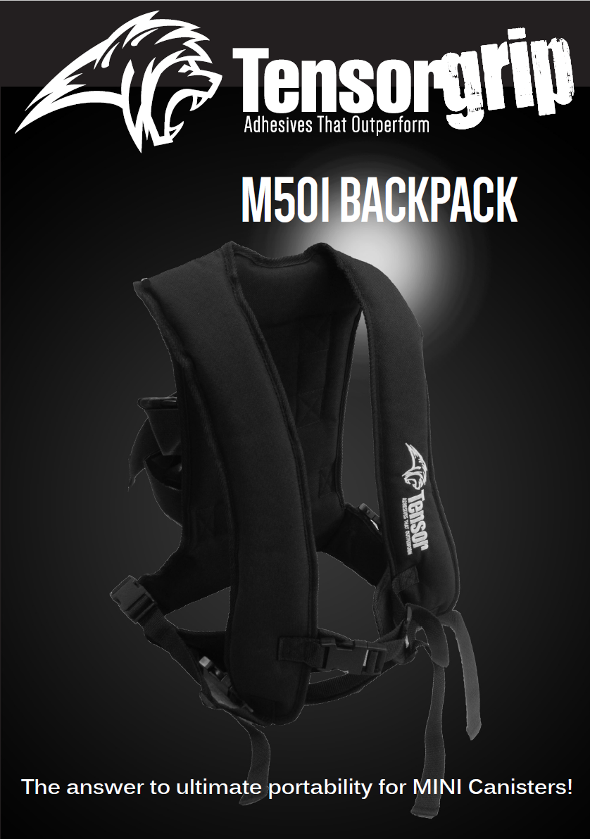 TensorGrip M501 Backpack for mini canisters